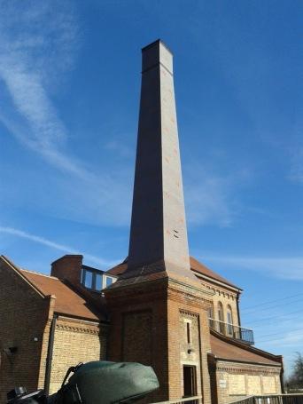 engine house chimney